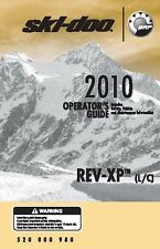 "Ski-Doo owners manual book 2010 REV-XP Summit Everest 163"" Track"