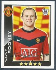 TOPPS 2010 PREMIER LEAGUE - #315-MANCHESTER UNITED & ENGLAND-WAYNE ROONEY