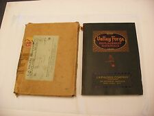 Original Valley Forge J. A. Fischer Phonograph Parts Catalog - 1939