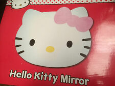 New boxed * hello kitty tête forme children's acrylique autoadhésif miroir *