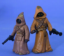 Star Wars Potf Loose Jawas muy raro en perfecto estado. C-10+