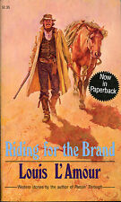 Riding for the Brand-Louis L'Amour-1st Carroll & Graf PB Printing-1986