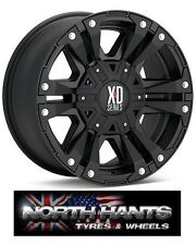 20X9 KMC XD MONSTER II BLACK WHEEL FORD RANGER, TOYOTA HILUX, ISUZU, L200 PICKUP