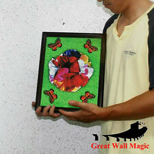 Free shipping Spring Flowers Frame  / stage magic