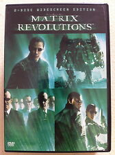 Keanu Reeves THE MATRIX REVOLUTIONS Wachowski Brothers Sci-Fi Action ~ R1 US DVD
