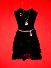 SEXY XTRAX GOTHIC KLEID SPITZE CORSAGE RoCKaBiLLY PARTY ROMANTIK XS S 34 36 TOP