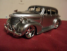 Jada 1939 Chevrolet Master Deluxe 1/24 scale  New no Box  2011 release Silver