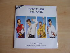 "Brother Beyond: Be My Twin 7"": 1989 UK Release: Gatefold Picture Sleeve"