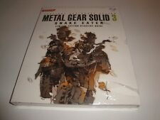 METAL GEAR SOLID 3 SNAKE EATER LIMITED EDITION STRATEGY GUIDE NEW FACTORY SEALED