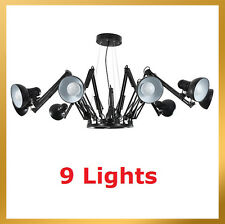 Contemporary Dear Ingo Spider Chandelier Pendant Lamp Ceiling Light -9 Lights