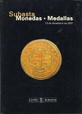 Cayon Subastas, Monedas - Medallas, 12/01 Spanish colonial portrait gold escudos
