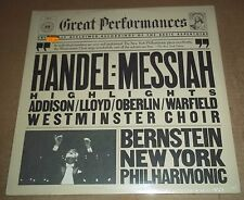 Bernstein/Addison/Lloyd/Oberlin/Warfield HANDEL Messiah - CBS MY 38481 SEALED