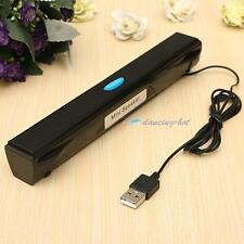 Portable USB Multimedia Mini Speaker for Computer Desktop PC Laptop Notebook DHC