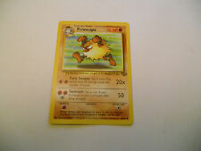 POKEMON CARDS: 1x TCG Primeape-Jungle-NON Comune-43/64-ING INglese x1