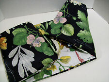 Pottery Barn Multi Colors Botanical Poppy Floral King Duvet Cover New