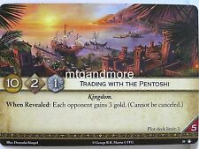 A Game of Thrones 2.0 LCG - 1x Trading with the Pentoshi #039 - Taking the Black