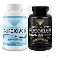 Absonutrix Fucoidan and R-Lipoic Acid increase immune support antioxidant