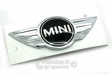 NEW Genuine BMW MINI One / Cooper / Works Bonnet Badge JCW R55 R56 AND R57 LCI