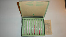 Vintage Kellogg's Working Beverage Thermometers Set of 8 in Original Packaging