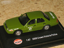 Model Power HO (1/87) US Army Staff Car Ford Crown Victoria Police Car