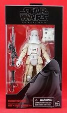 "Snowtrooper Star Wars the Black Series 6"" Action Figure Wave 9 Hasbro Toy New"