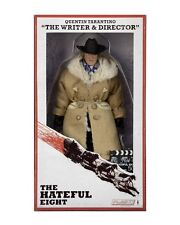 "NECA The Hateful Eight QUENTIN TARANTINO 8"" Retro Style Clothed Figure Director"