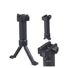 Durable Tactical RIS Fore Grip Bipod Pod Picattinny Weaver Rail Rifle Foregrip