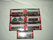LOOK! MODEL POWER HO SCALE FREIGHT CARS FACTORY SEALED    LOT #U-81