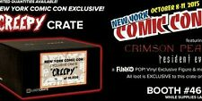 Creepy Loot Crate 2015 NYCC Exclusive Comic Con Resident Evil Funko POP