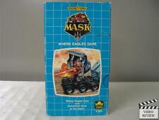 MASK - Where Eagles Dare VHS Golden Book Video - 1987