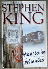 Hearts in Atlantis by Stephen King HC 2nd Scribner haunted by the Vietnam War