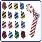 New Good Quality Boys Girls SCHOOL EQUAL STRIPED TIES 40