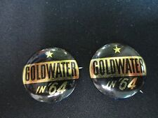 1964 Goldwater In '64 Button Green Duck Co Chicago