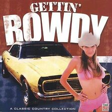 TIME LIFE MUSIC Gettin' Rowdy Classic Country Collection 18 Tracks + BONUS CD!!!
