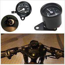 12V Waterproof Motorcycles Dual Odometer Digital Speedometer Guage LED Backlight