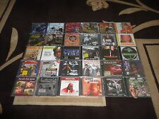 30 NEW & Sealed CD Lot - Rap Hip Hop R&B Underground Gangsta Rap - Rare