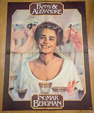 Affiche de cinéma : FANNY ET ALEXANDRE de INGMAR BERGMAN -