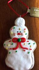 """CHRISTMAS Gingerbread Cookie """"VOLLEYBALL PLAYER""""  ORNAMENT NEW Xmas Tree"""