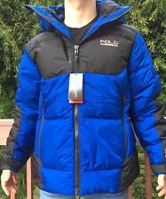 NWT $385 Polo Ralph Lauren Sport Sideline Down Jacket size XL sapphire