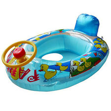 Baby Swim Ring Seat Float Boat Inflatable Swimming Training Tube  Raft Wheel