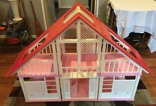 "Vintage LARGE Mattel ""Barbie Dream House"" Pink Doll House Child's Toy"