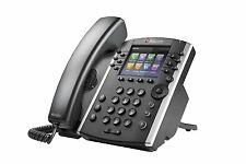Polycom VVX 400  POE  Business Media Phone (2200-46157-025) , 1 year warranty