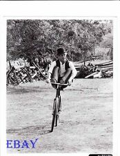 Paul Newman rides bicycle VINTAGE Photo Butch Cassidy and The Sundance Kid