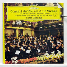 DGG digital LP - LORIN MAAZEL - STRAUSS new year's concert in Vienna
