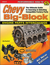 Chevy Big-Block Engine Parts Interchange Book ~ Compatibility & parts ID ~ NEW!