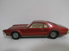 OLDSMOBILE TORNADO ROT RED W/ TAKE OFF WHEELS 1:43 CORGI TOYS 264 VON 1966-1969