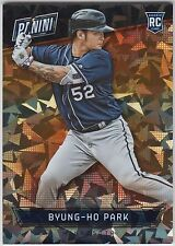 BYUNG-HO PARK 2016 Panini National NSCC Thick Cracked Ice Rookie #/25 Twins