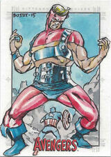 Marvel Avengers Silver Age Sketch Card by Budi Setiawan of Goliath
