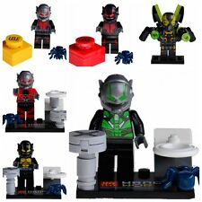 New 6 Pcs Minifigures Marvel Super Hero Ant-Man Lego Building Blocks Toys Gift