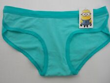 One in a Minion Movie Cute Despicable Me Minions Seagreen Hipster Panties Sz M